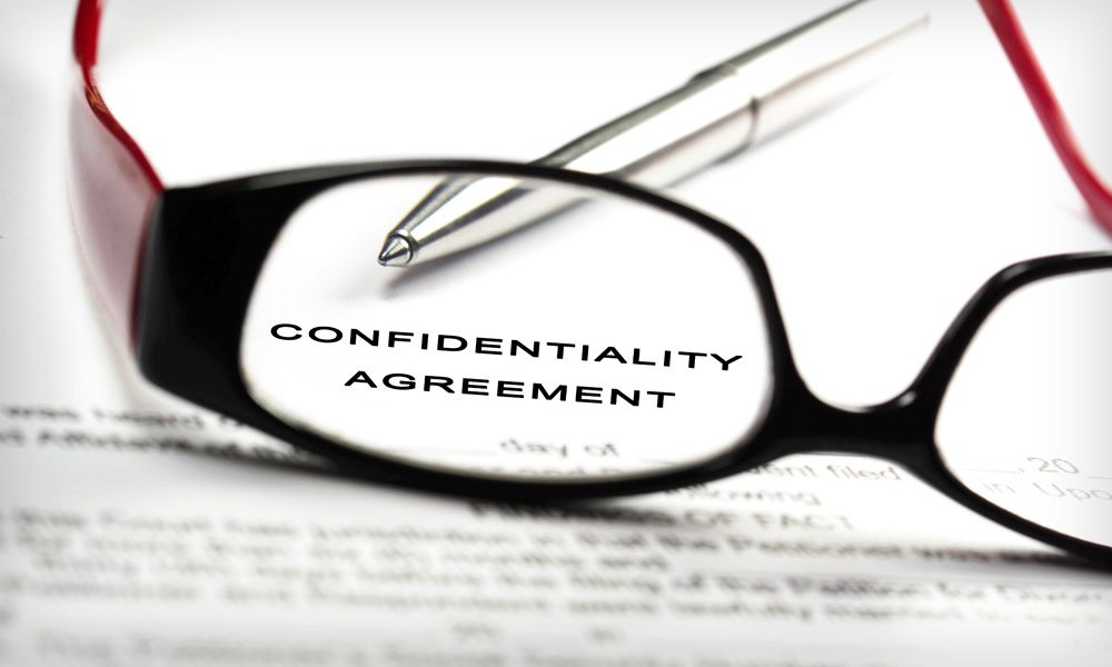Confidentiality Agreements with Vendors